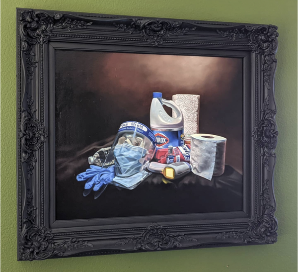 "Image of ""Essentials"" oil painting"