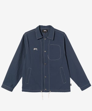 Image of STUSSY_FOLSOM COACH JACKET :::NAVY:::