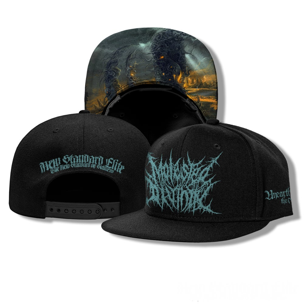 """Image of MOLESTED DIVINITY """"UNEARTHING THE VOID"""" SNAP BACK"""