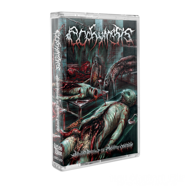 "Image of ECCHYMOSIS ""ABERRANT AMUSEMENT IN CADAVERIC VOMITPLAY"" CASSETTE"
