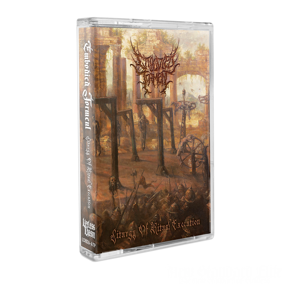 """Image of EMBODIED TORMENT """"LITURGY OF RITUAL EXECUTION"""" CASSETTE"""