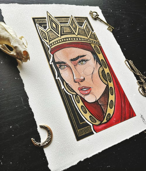 Image of VEIL OF GOLD original