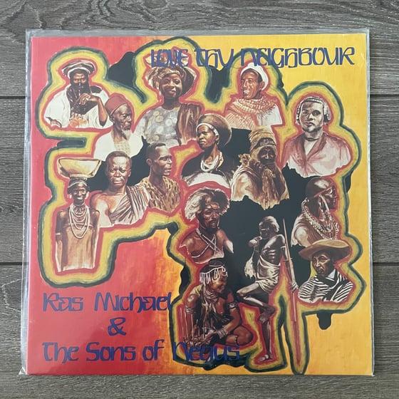 Image of Ras Michael & The Sons Of Negus - Love Thy Neighbor Vinyl LP