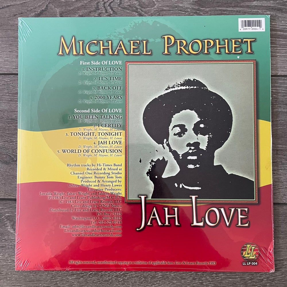Image of Michael Prophet - Jah Love Vinyl LP