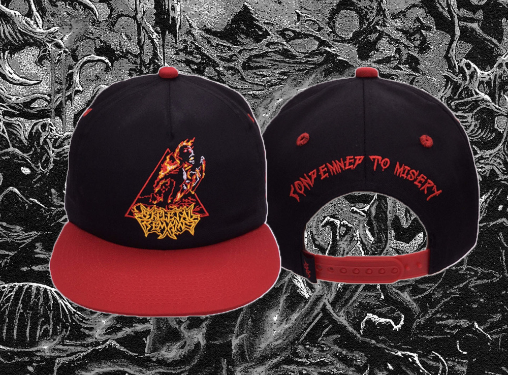 """Condemned To Misery"" Cap"
