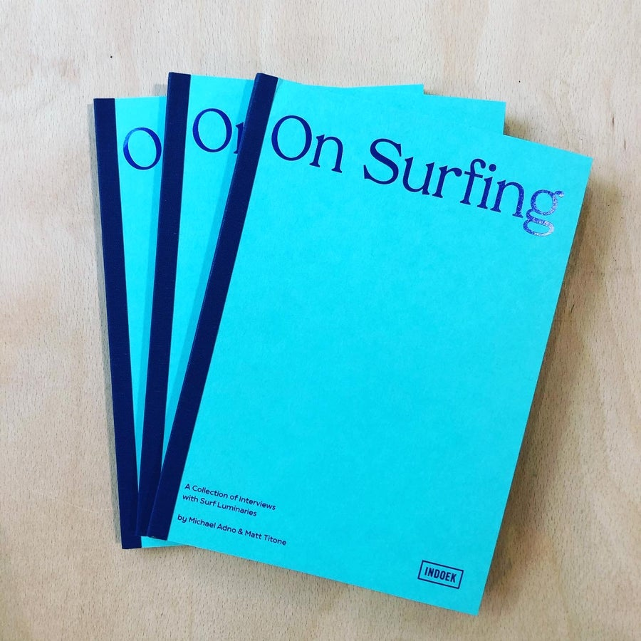 Image of On Surfing Book: A collection of Interviews with Surf Luminaries
