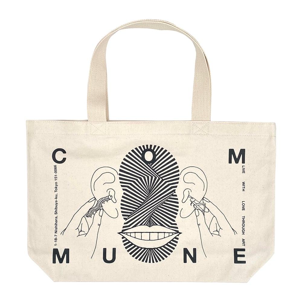 Image of Ed Davis × gallery commune Tote Bag [Natural]