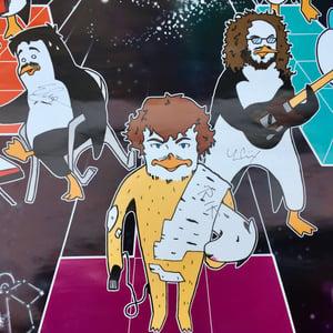 Image of Poster autografato Pinguini Tattici Nucleari