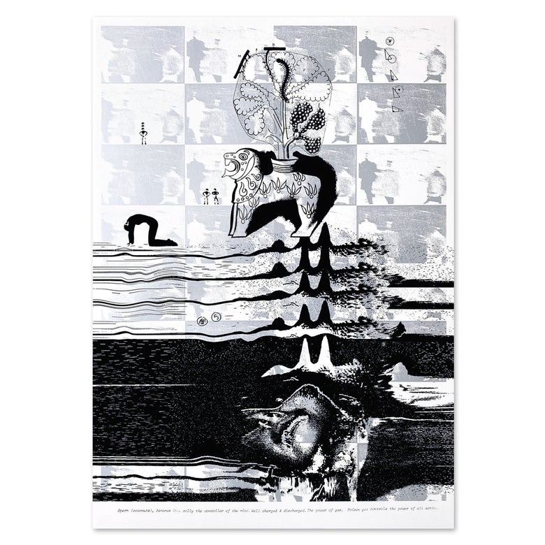 """Image of """"Blanket Show"""" Screen Print by Ed Davis"""