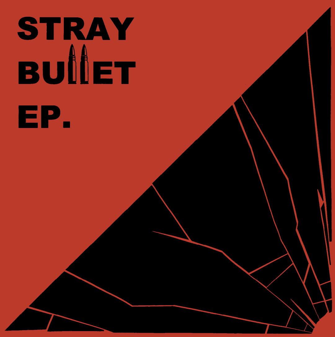 "Image of STRAY BULLET ""s/t"" 7"" E.P."