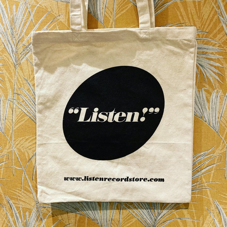 Image of LISTEN! tote bag