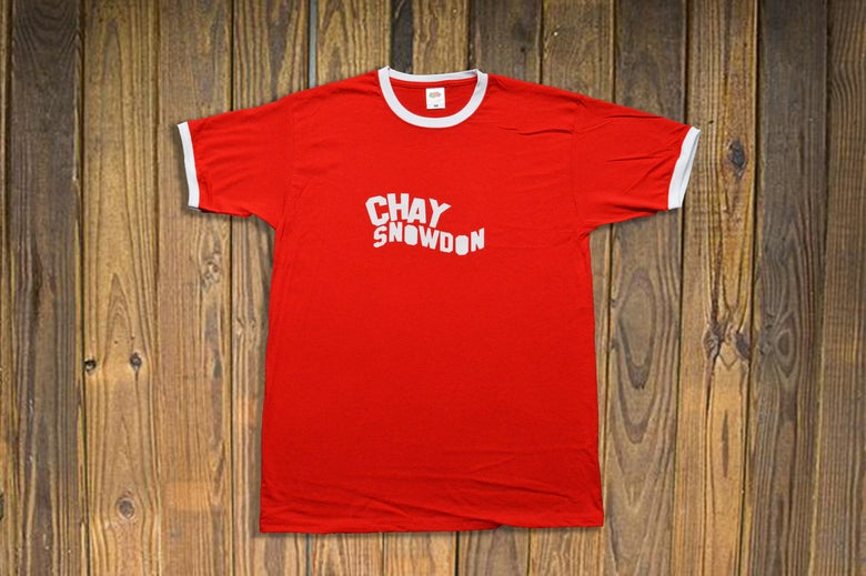 Image of Chay Snowdon Red Ringer T-Shirt