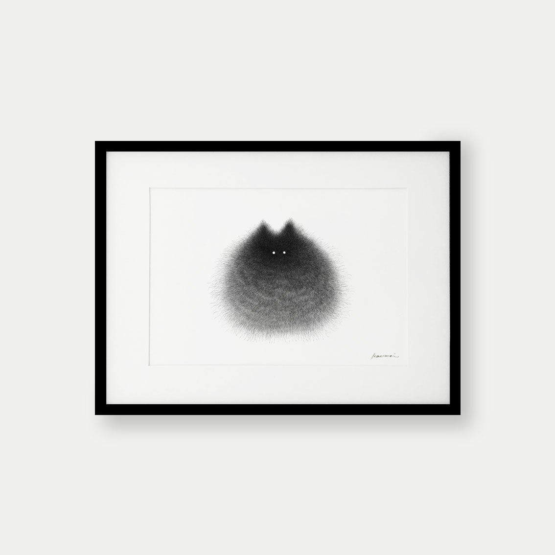 Image of Kitty No.76 – A3 Open Edition Print