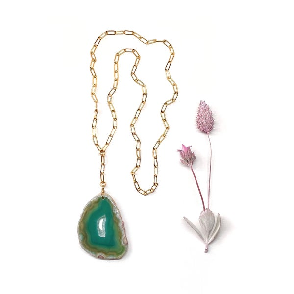 Image of AGATE necklace