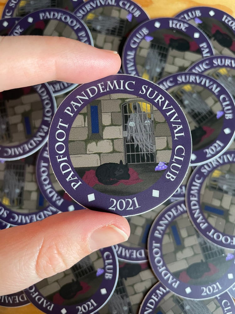 Image of Padfoot Pandemic Survival Club 2021 Decal