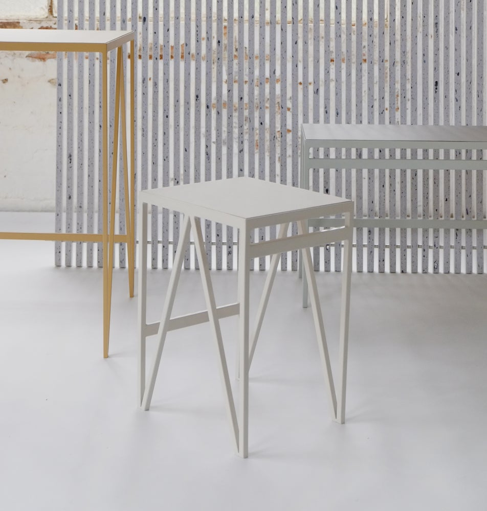 Image of Pastel Side Table | Stool