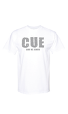 Cue T-shirt Front/Back