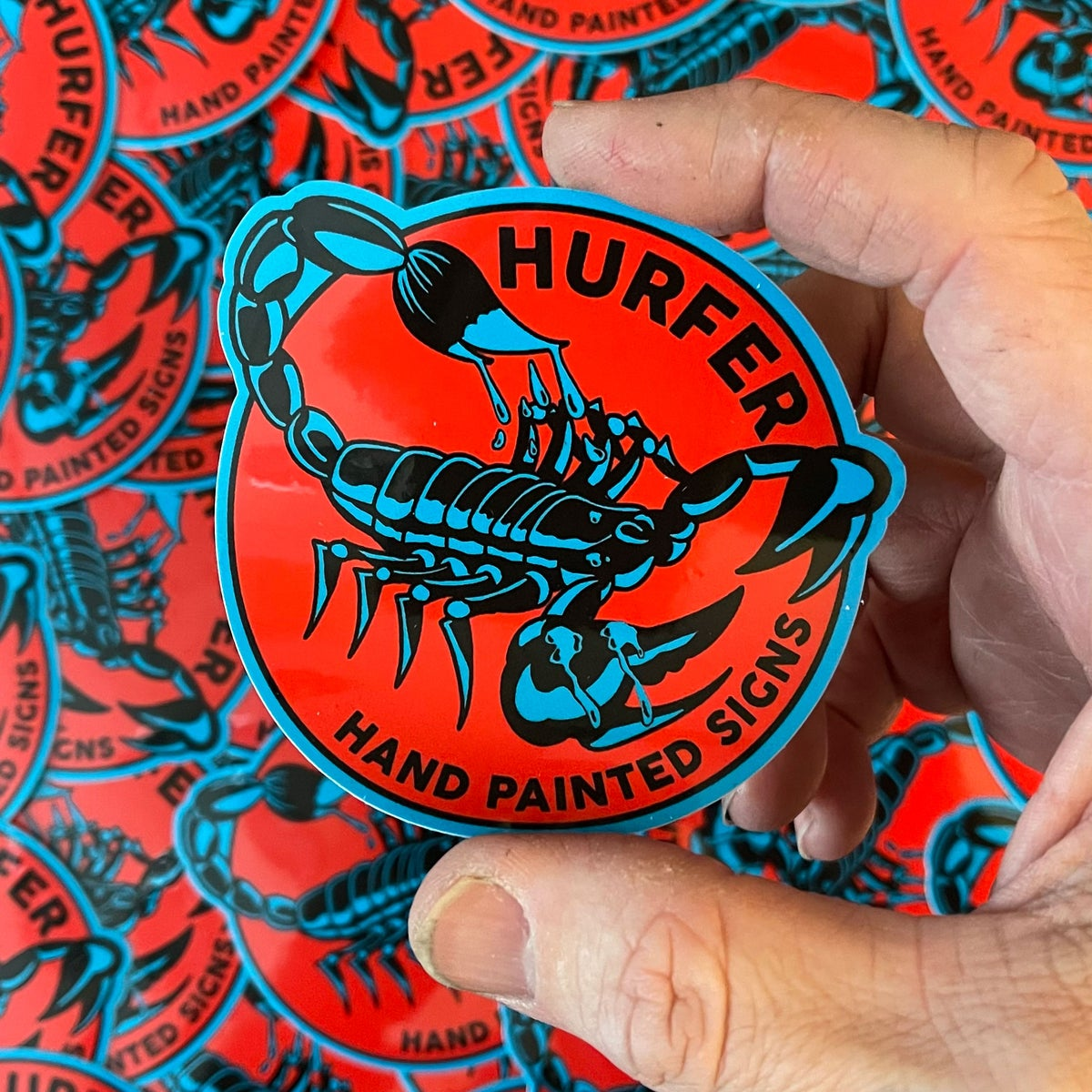 Image of Scorpion Sticker