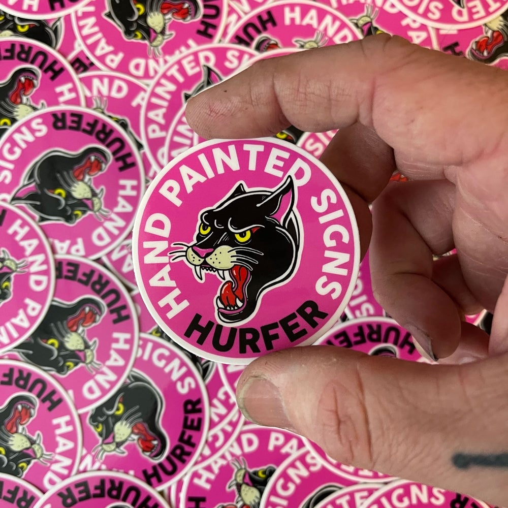 Image of Pink Panther Sticker