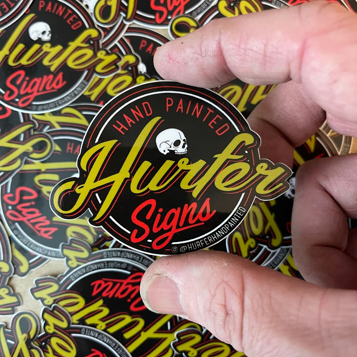 Image of Hurfer Logo Stickers