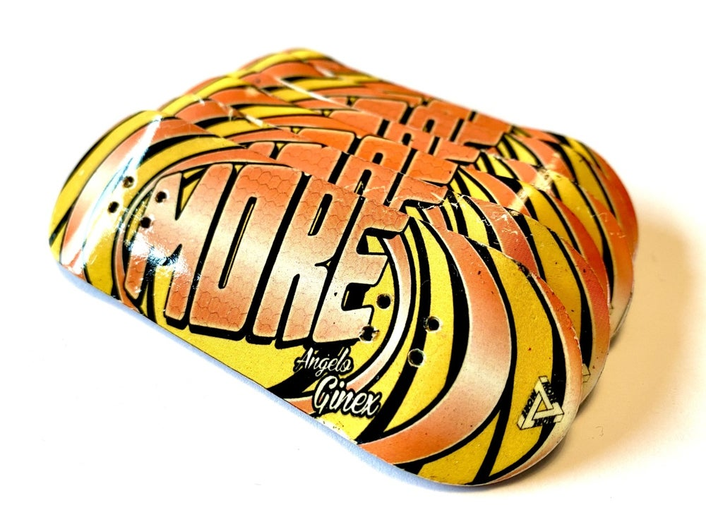 "Image of More Fingerboard Deck ""Angelo Ginex"" Pro Model"