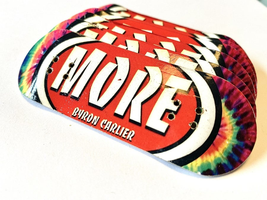 "Image of More Fingerboard Deck ""Byron Carlier"" Pro Model"