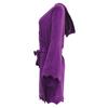 Bat Bath Robe - Amethyst