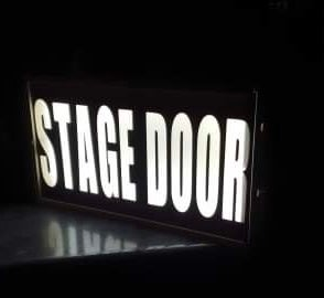 Stage Door Light Box