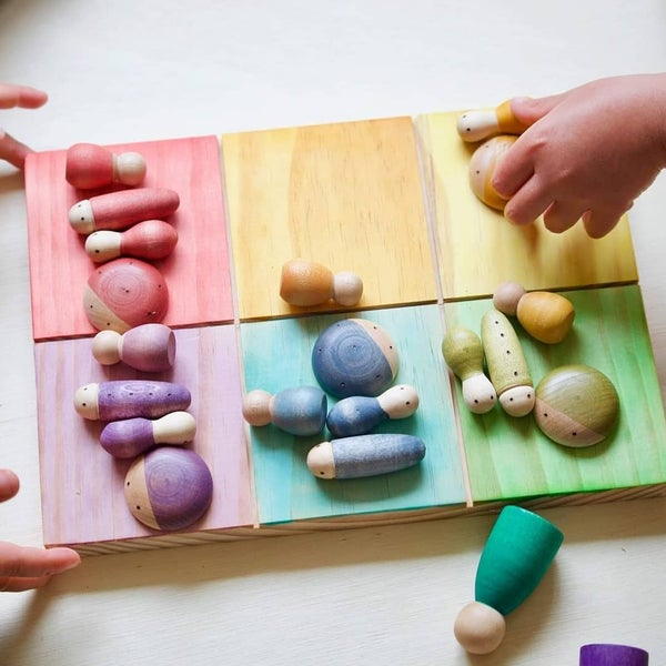 Image of Colour sorting board