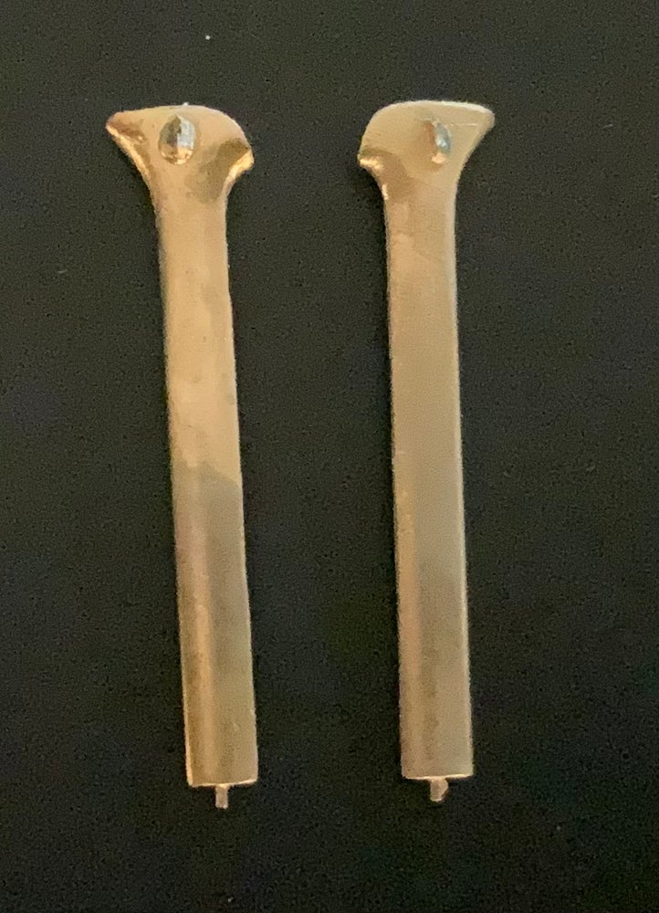 Image of Cessna O-2A Skymaster brass wing supports (1/32)