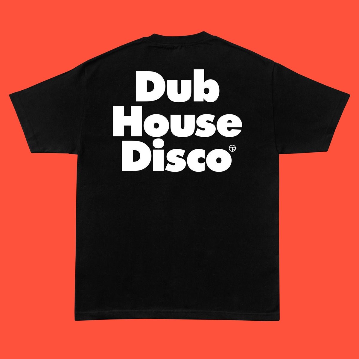 Image of Dub House Disco Tee – White On Black