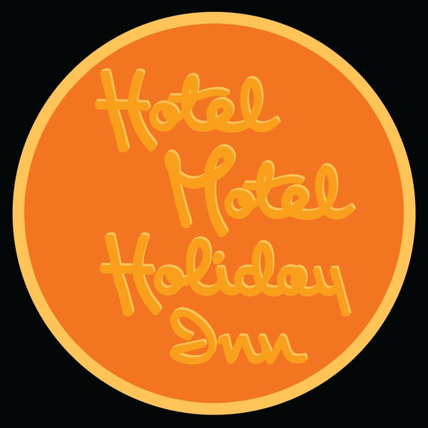 "Image of 12"" digital badge print, signed - HOTEL MOTEL HOLIDAY INN"