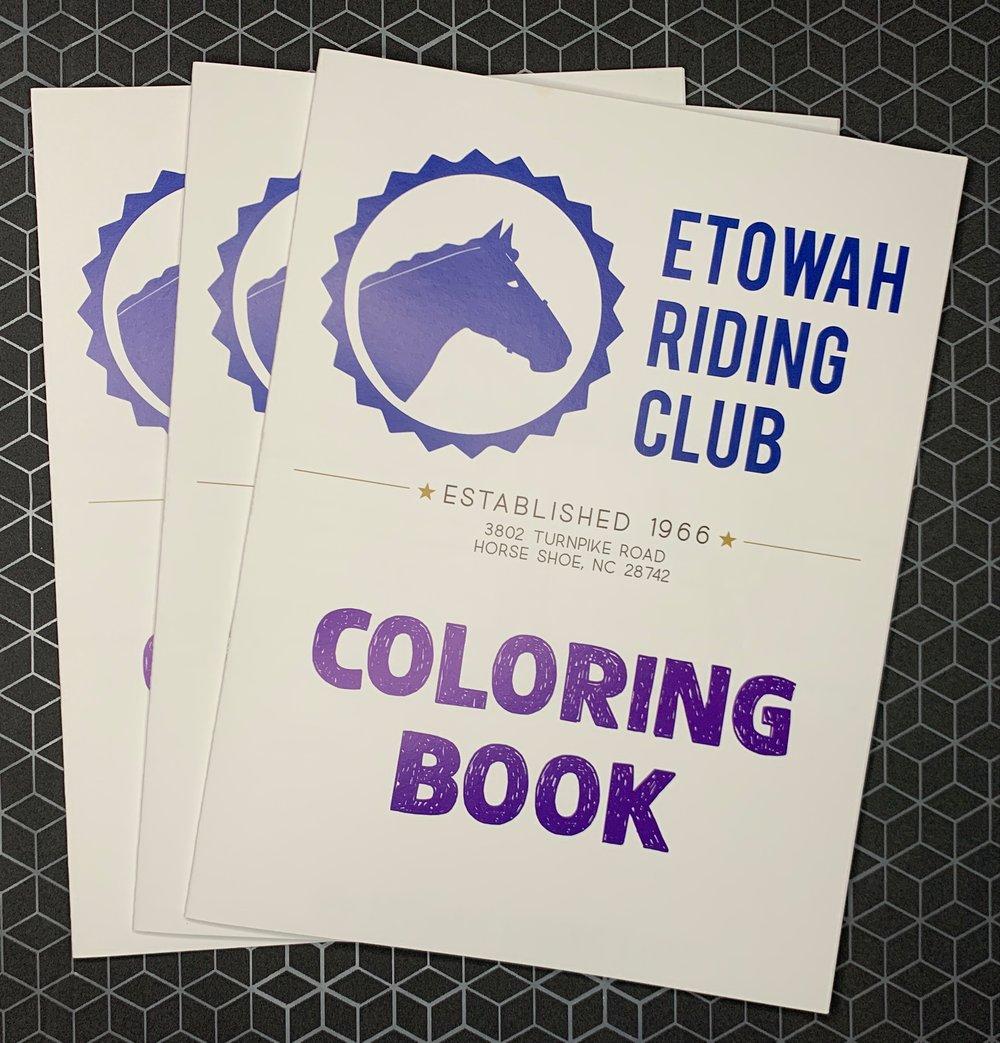 ETOWAH RIDING CLUB: COLORING BOOK