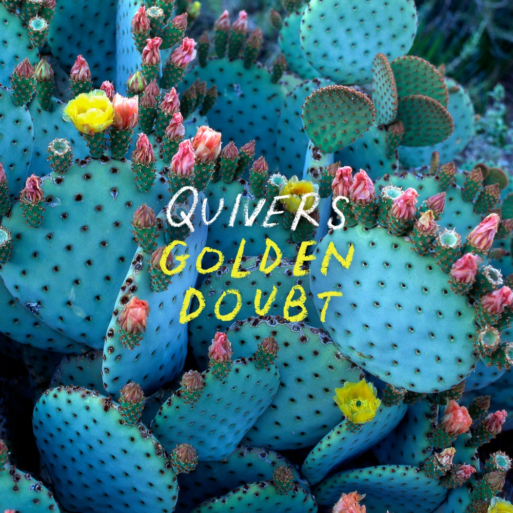 "Image of Quivers ""Golden Doubt"" Viny (Blackl) LP"