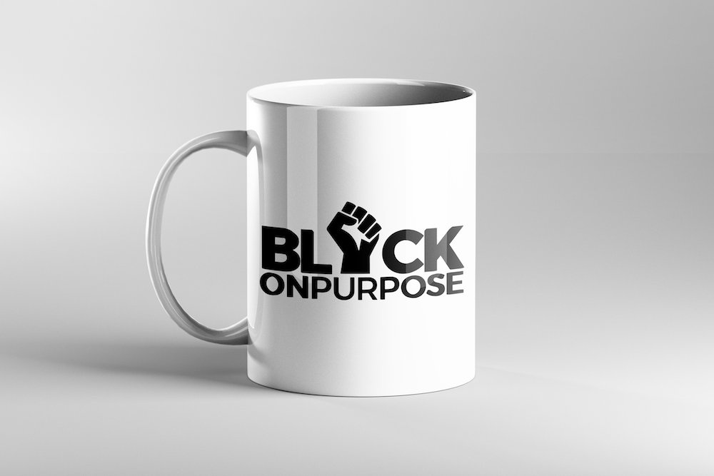 Image of Black On Purpose Mug