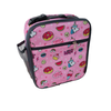 Insulated lunch bag - pink stuff