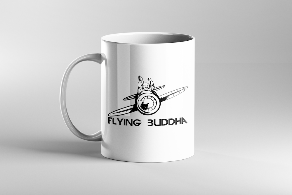 Image of Flying Buddha Mug