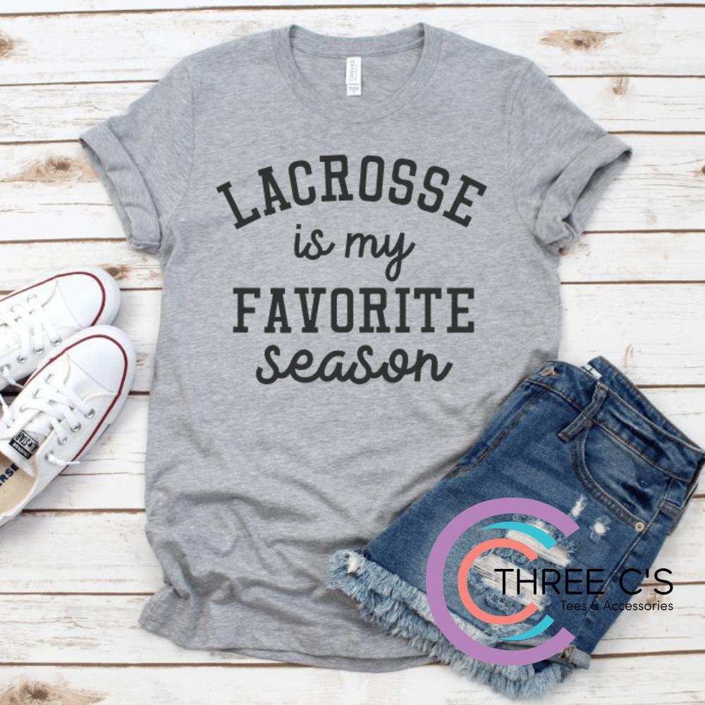Image of Lacrosse Is My Favorite Season Tee