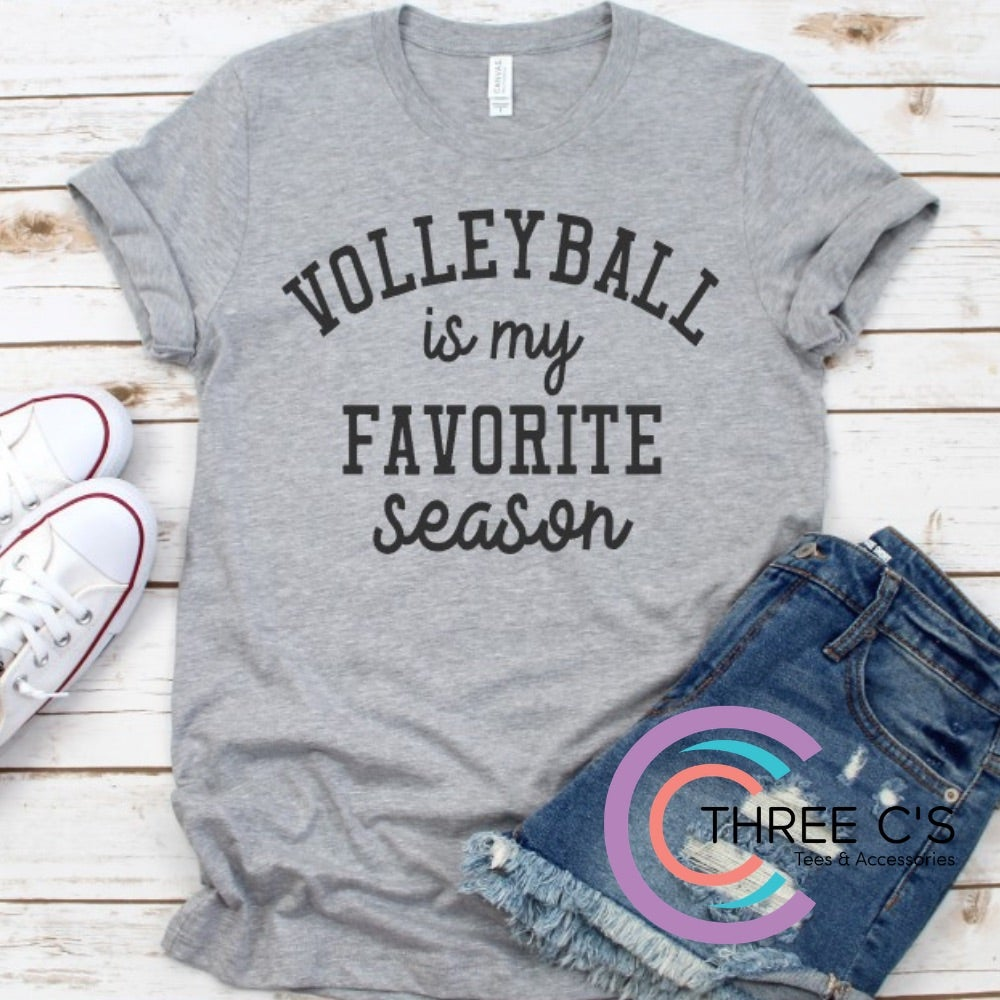 Image of Volleyball Is My Favorite Season Tee