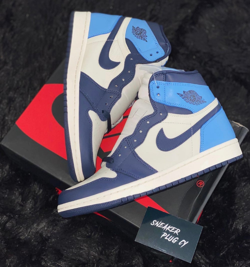 """Air Jordan 1 High """"Obsidian Blue"""""""