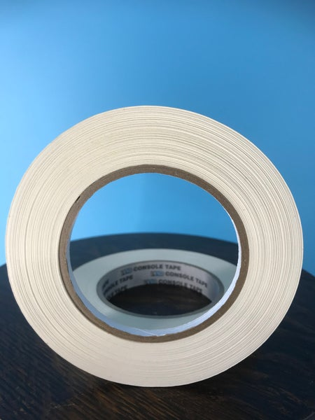 "Image of Burlington Recording 1/4"" x 180' PRO White Console/ Artist Tape on Hub"