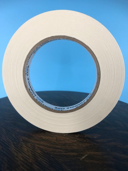 "Image of Burlington Recording 1/2"" x 180' PRO White Console/ Artist Tape on Hub"