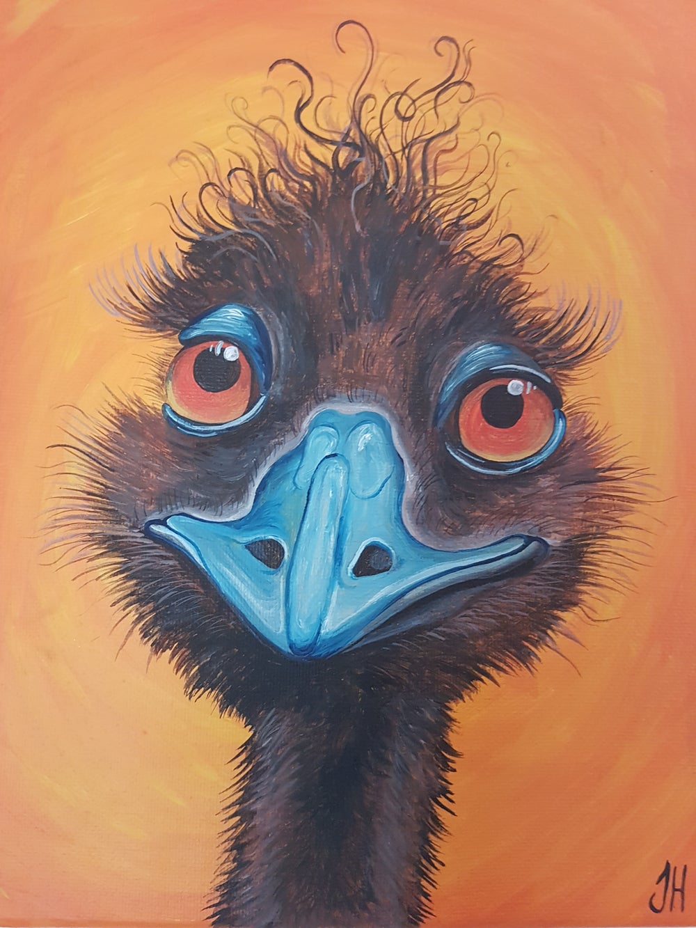 Emu Original Painting