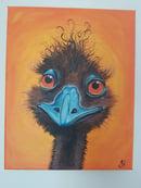 Image 2 of Emu Original Painting