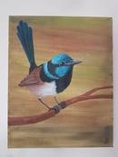 Image 2 of Fairywren Original Painting