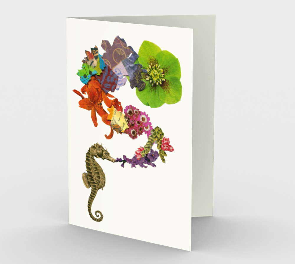 Image of Seahorse 1 Gift Cards (Set of 3)