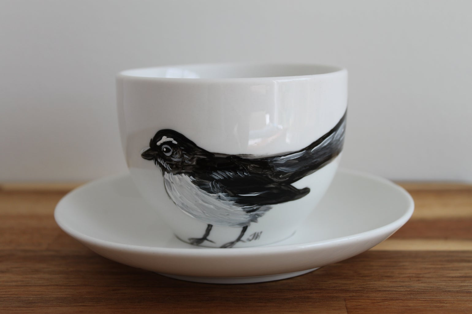 Image of Willie Wagtail Cup and Saucer