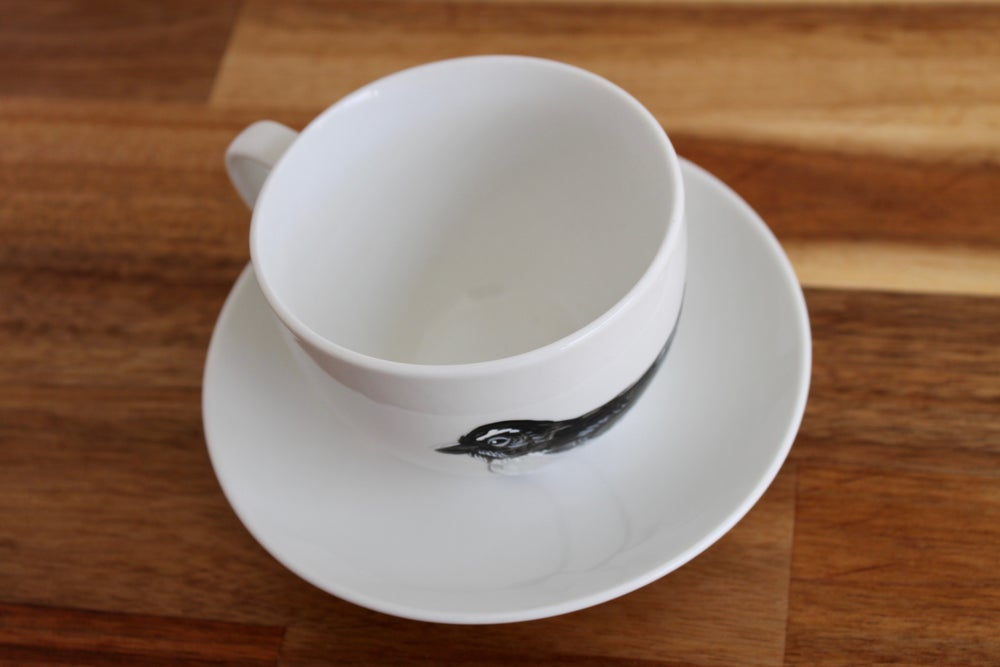 Willie Wagtail Cup and Saucer