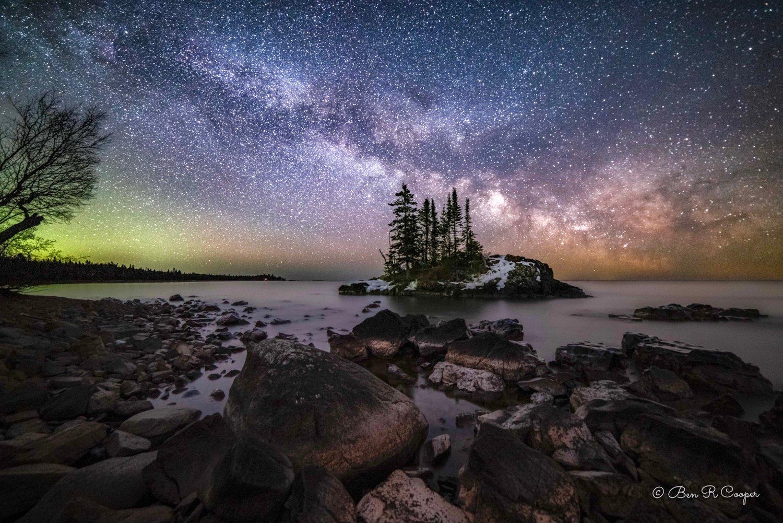 North Shore at Night