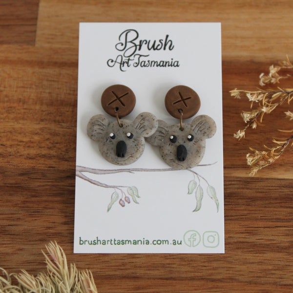 Image of Koala Earrings